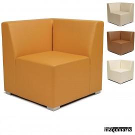 Rinconera modular tapizado P.U. IM6602 colores