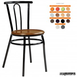 Silla apilable bar asiento SOLO IM162S colores