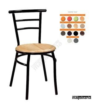 Silla bar clásica asiento SOLO IM155S colores