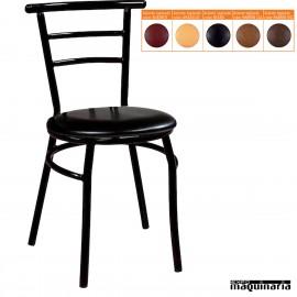 Silla bar asiento tapizado IM155T apilable