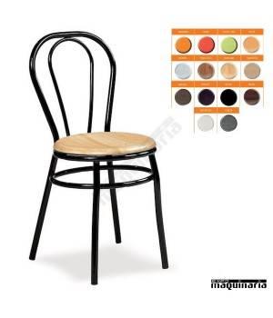 Silla hostelería asiento SOLO IM113S colores