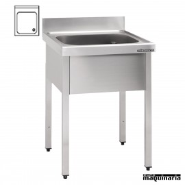 Distform muebles de acero inoxidable 2 expomaquinaria for Pozas para cocina