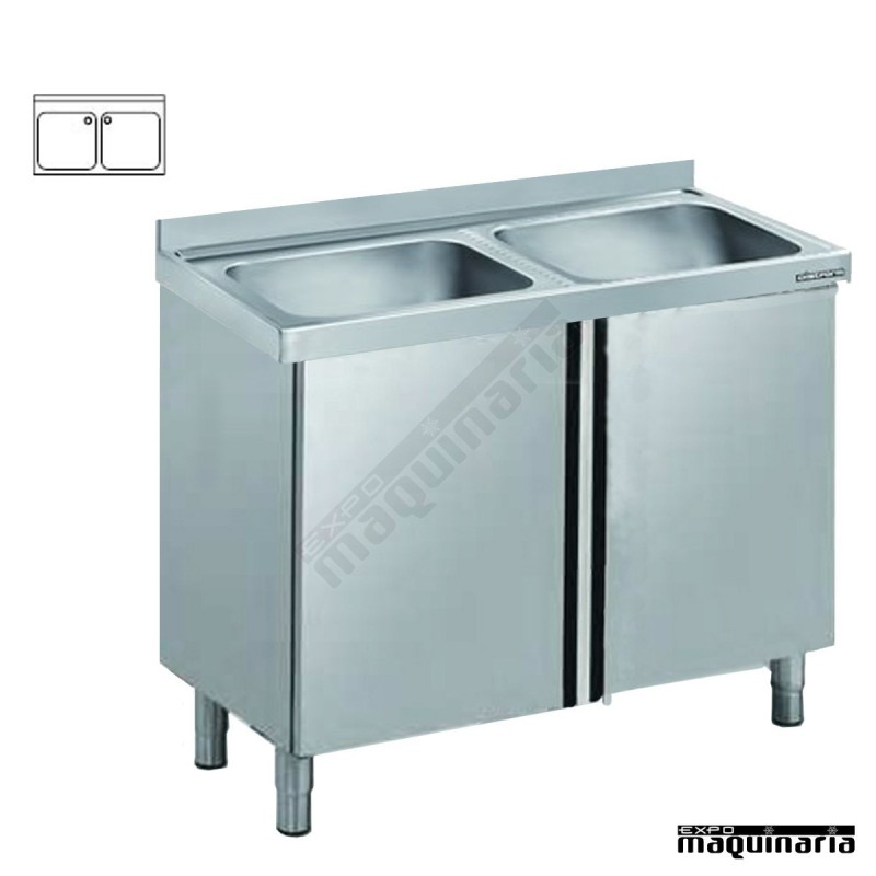 Pila fregadero para exterior best p pila granito artificial pulida sin lavadero blanco xx with - Mueble pila lavadero ...
