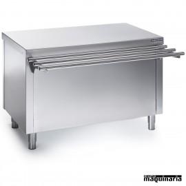 Mesa self service con reserva caliente