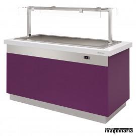 Mesa gastrobuffet baño maría ventilado