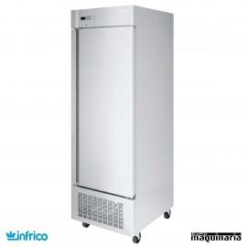 Armario refrigerador inoxidable 1 puerta GN2/1