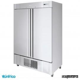 Armario refrigerador inox 2 puertas GN2/1