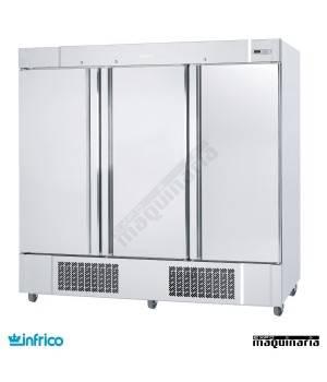 Armario refrigerador inox 3 puertas GN2/1
