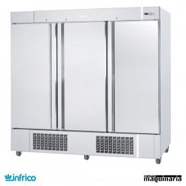 Armario congelador inox 3 puertas GN2/1