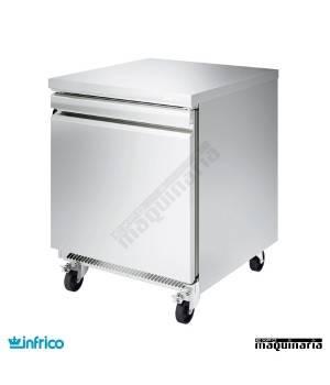 Mesa bajo mostrador congelador 1 puerta