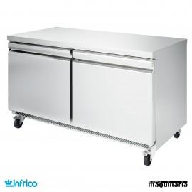 Mesa bajo mostrador congelador 153 cm
