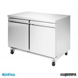 Mesa bajo mostrador congelador 122 cm