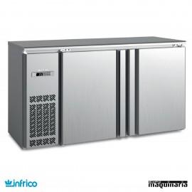 Mesa frente mostrador refrigerado 154 cm