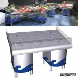 Mostrador para pescaderías con soporte FR074445