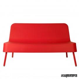 Sofá REBOB-SO rojo