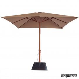 Parasol cuadrado 3 metros RE AM1