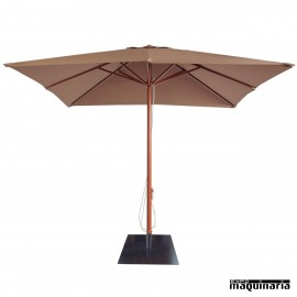 Parasol cuadrado 3 metros RE AM1