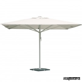 Parasol terraza sombrillas terraza y veladores for Recambio tela parasol 3x3
