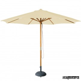 parasol redondo metros m