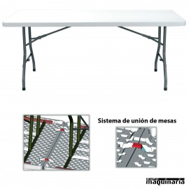 Mesas de catering RE Vivaldi (198 x 91 cm) PLEGABLE rectangular