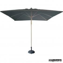 Parasol cuadrado 3x3 metros REi1