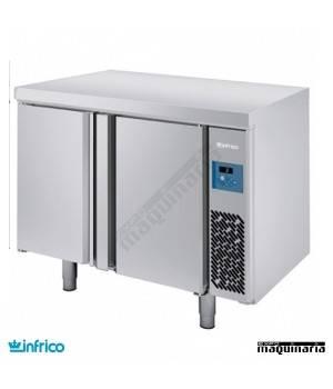 Mesa refrigerada pasteleria pre-instalada (131x80 cm) MR1620GR