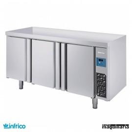 Mesa refrigerada pasteleria pre-instalada (187,7x80 cm) MR2190GR