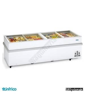 Arcon Congelador 805L. P. de cristal 250.5x96x78 cm
