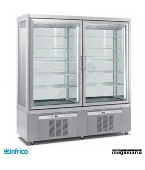 Armario expositor heladería INLO9324VNP (172 x 65 cm)