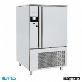 Abatidor de temperatura INABT102S de 10 bandejas GN 1/1