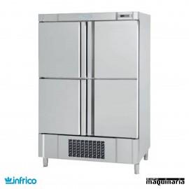 Nevera Vertical refrigeradora en acero inoxidable INAN904T/F