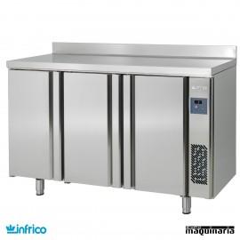 Mesa refrigerada ALTA SIN MOTOR (165 x 60 cm) INFMPP2000GR