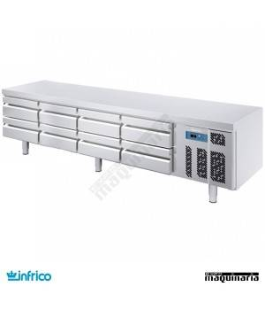 Mesa refrigerada baja-Snack (240 x 65 cm) MSG 2400