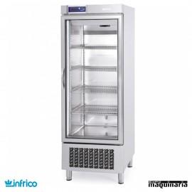 Nevera Congelador con Puerta de Cristal INAN501BTCR