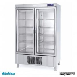 Nevera Congelador con Puerta de Cristal INAN1002BTCR
