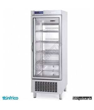 Nevera Refrigerador con Puerta de Cristal INAEX500TF