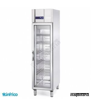 Nevera Refrigerador con Puerta de Cristal INAGN300CR