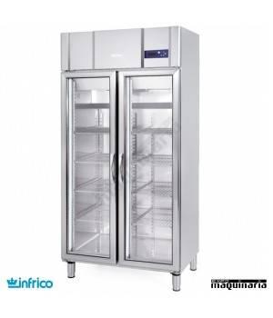 Nevera Refrigerador con Puerta de Cristal INAGN600CR