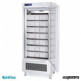 Nevera Refrigerador puerta de cristal pescado INAP401T/FPAST