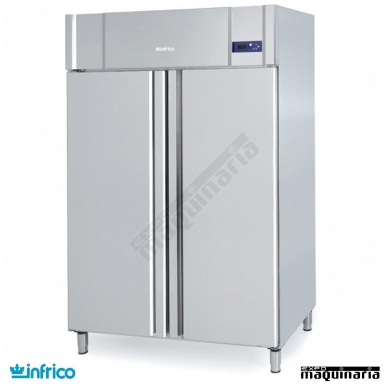 Nevera refrigerador gastronorm 2 1 inagb1402 - Nevera dos puertas verticales ...