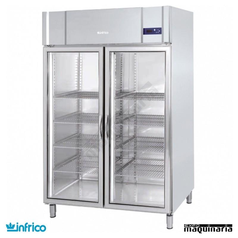 Nevera refrigerador expositor gn 2 1 con puerta de cristal - Neveras doble puerta ...