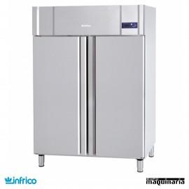 Nevera Refrigerador Gastronorm 2/1 con ruedas INAGB1302