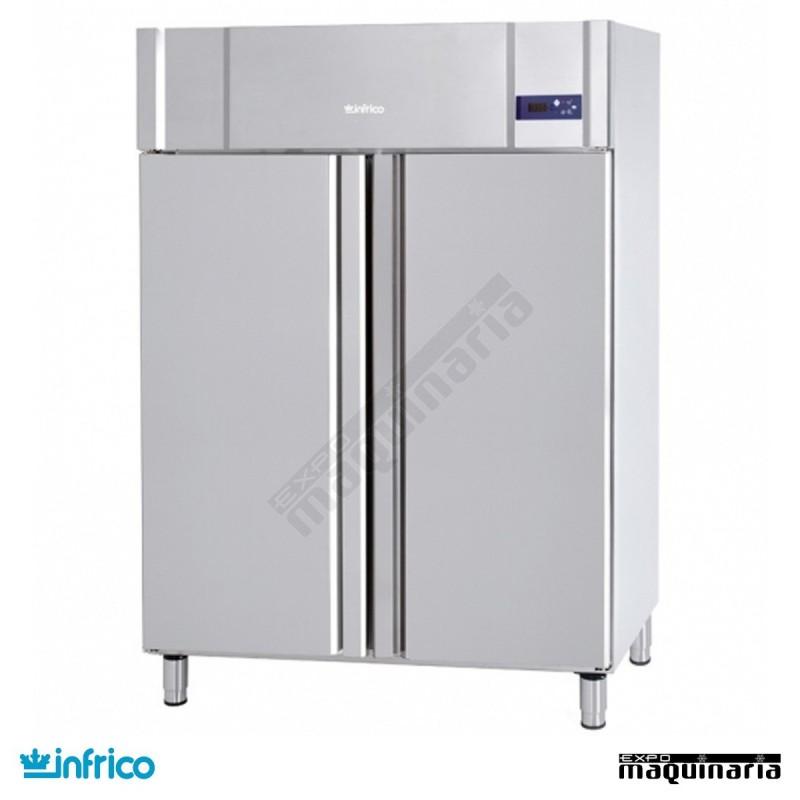 Nevera refrigerador gastronorm 2 1 con ruedas inagb1302 - Nevera dos puertas verticales ...