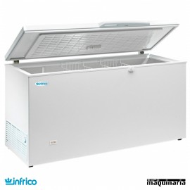 Congelador 337L. Interior Acero Inox 140X66X86