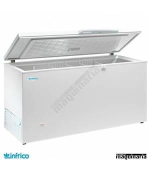 Congelador 427L. Interior Acero Inox 159.6X66X86