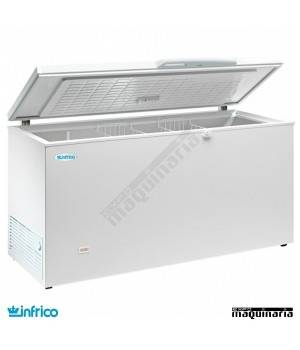 Arcon Congelador 427L. Puerta Abatible 159.6X66X86