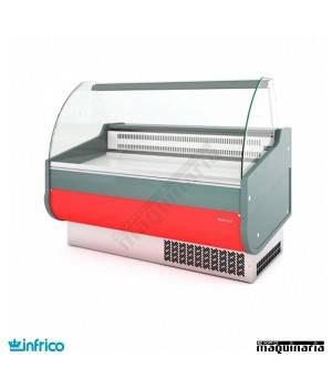Vitrina Cristal Curvo frío semiestático con reserva 1m VGRD1000