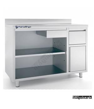 Mueble cafetero IFFMC150 de acero inoxidable