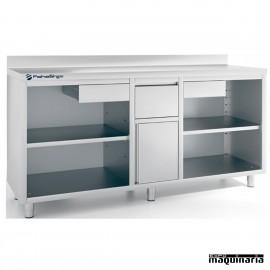 Mueble cafetero IFFMC200 de acero inoxidable