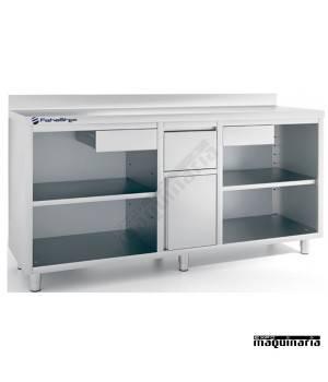 Mueble cafetero IFFMC200 de acero inoxidable hostelería